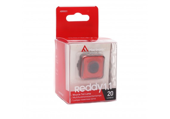 Rear bike lamp REDDY 1.1, 20 lm
