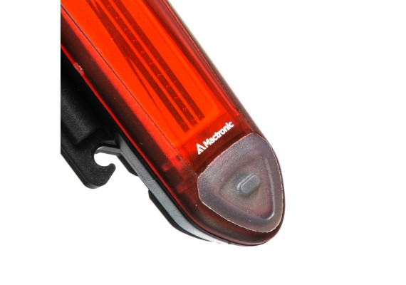 Rear bike lamp RED LINE, 20 lm