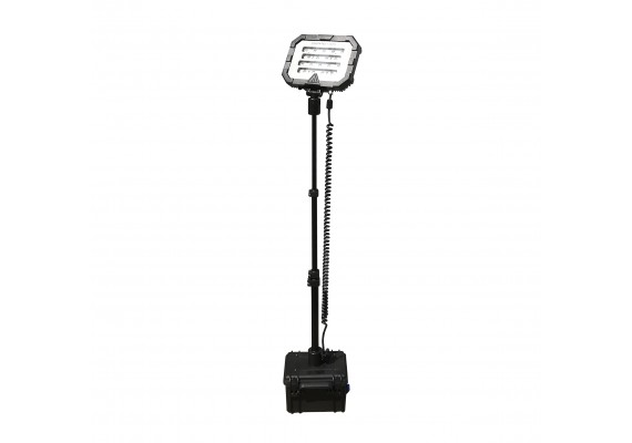 Compact portable area floodlight, MONSTERLIGHT MINI 24 Ah 18000 lm