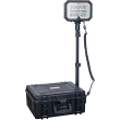 Single head portable floodlight with strong output, MONSTERLIGHT MIDI 47,6 Ah 18000 lm