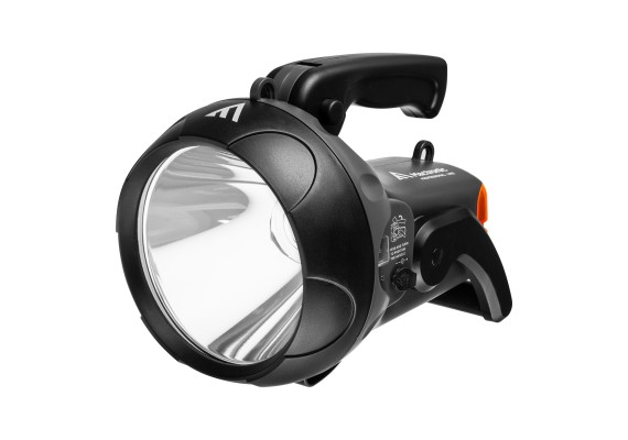 Rechargeable Searchlight with rear Signallight VANGUARD JML, 1600 lm