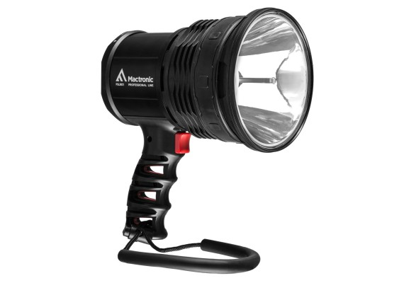 Rechargeable searchlight 10 Watt LED + wall mount, X-PISTOL RC 02, 600 lm