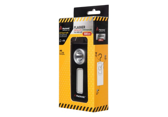 LED Signal Light, 500 lm, Flagger