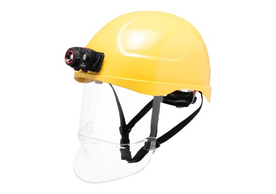 Double-sided velcro for mounting headlamps on the helmet