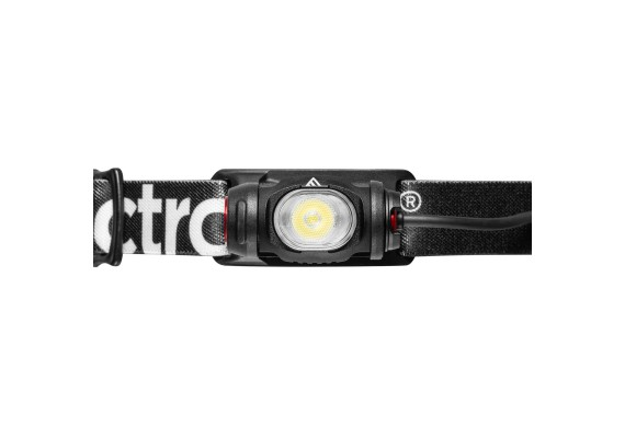 Rechargeable headlamp with smooth elliptical beam VIZO RC, 735lm