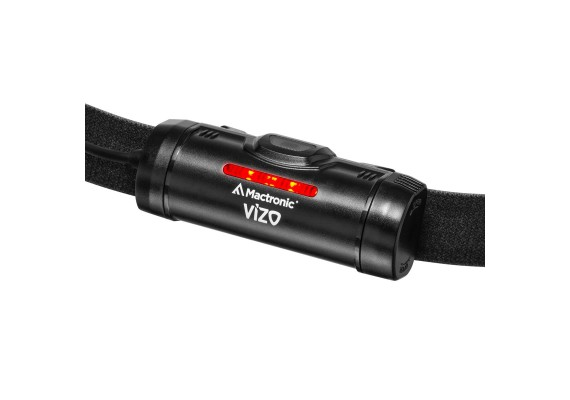 Rechargeable headlamp with smooth elliptical beam VIZO RC, 735 lm