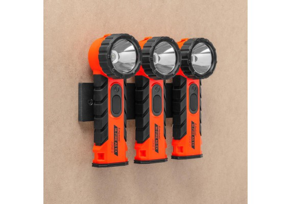 Right angle battery flashlight with Ex-ATEX Certificate M-FIRE AG, 323 lm