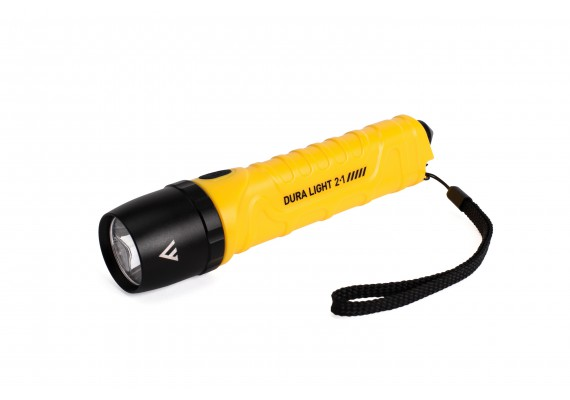 LED Flashlight with Glass Breaker, DURA LIGHT 2.1, 800 lm