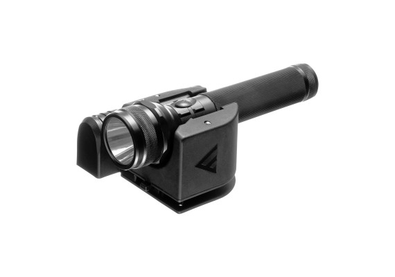 Patrol flashlight with dual switches and dual docking station PATROL CHARGER +, 700 lm