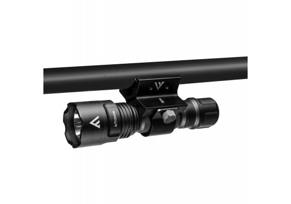Rechargeable flashlight with powerful output + filters BLACK EYE, 420