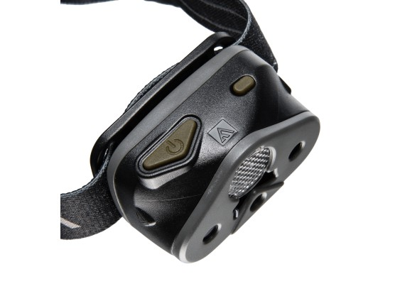 Battery headlamp featuring an additional red diode and 3 filters and diffuser NOMAD 02, 340lm
