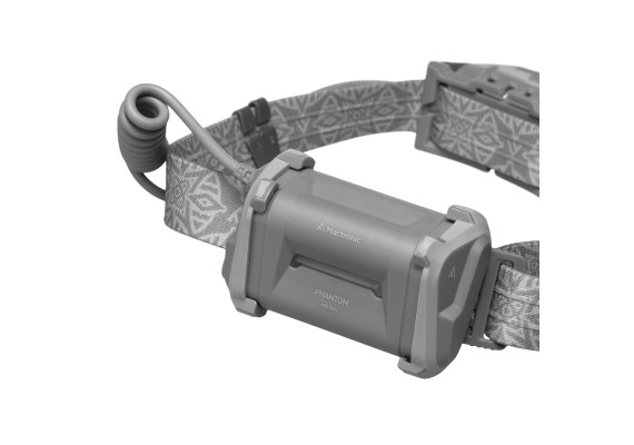 Double lens battery headlamp  with spot and flood beam plus diodes