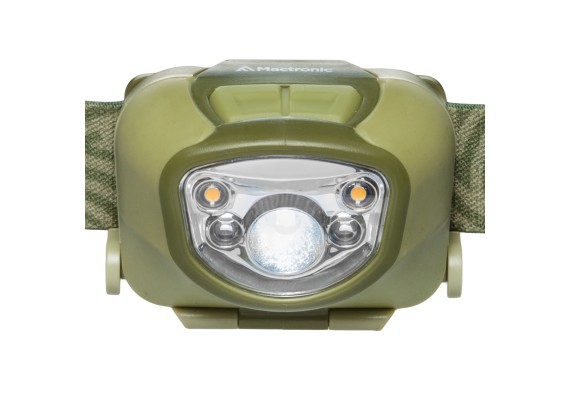 Rechargeable headlamp with  ADS / Advanced Dimming System