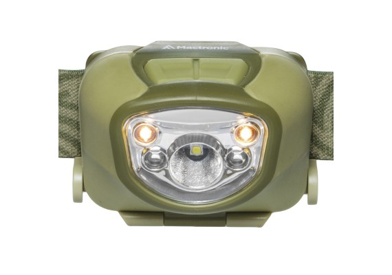 Rechargeable headlamp with ADS, NIPPO 1.8, 180lm + 30 lm