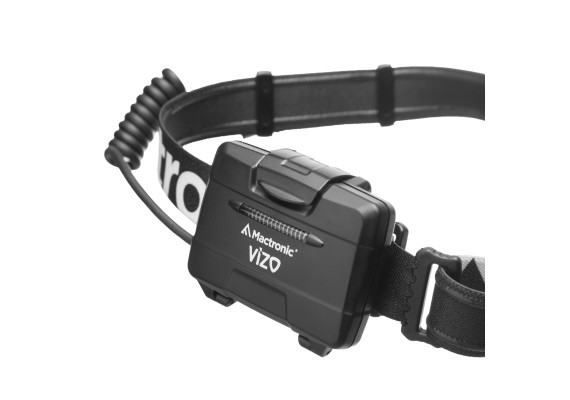 Battery headlamp with smooth elliptical beam, VIZO, 400 lm