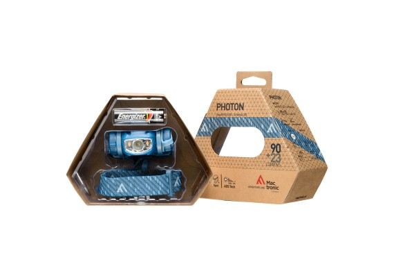 Lightweight battery headlamp Photon with cold and warm light PHOTON, 90lm