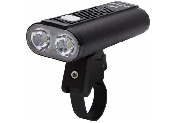 Bike headlight RIFLE, 1400 lm