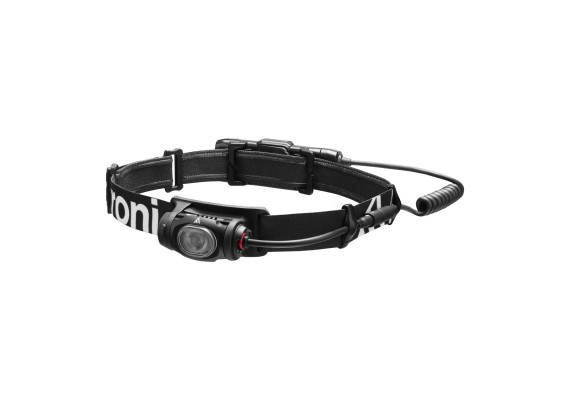 Rechargeable headlamp with smooth elliptical beam VIZO RC, 400 lm