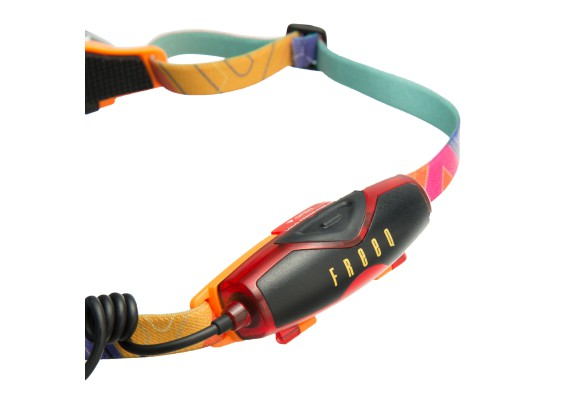 Featherweight Rechargeable Headlamp, 140 lm, FREEQ orange