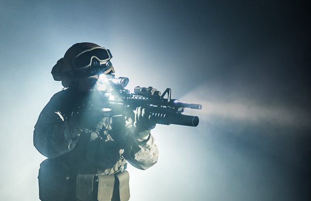 Military and tactical lighting
